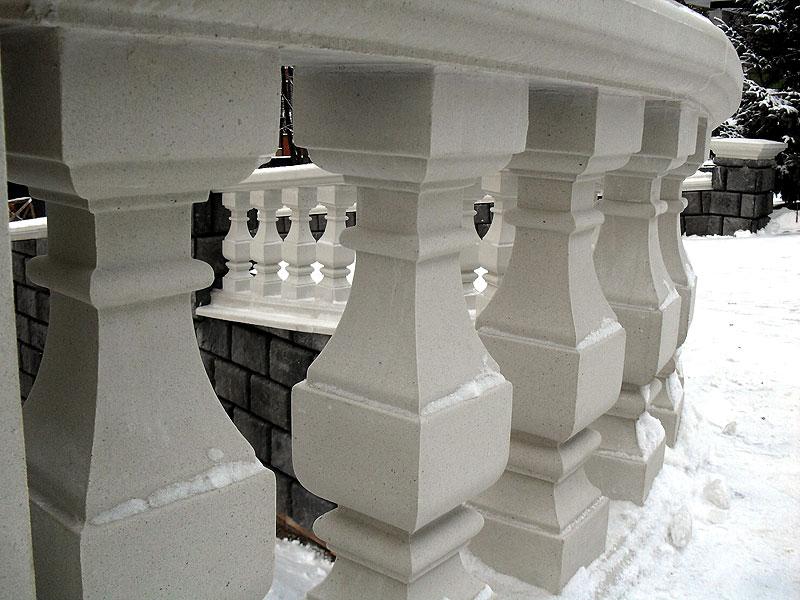 Москва балясины из бетона смесь бетонного раствора пропорции