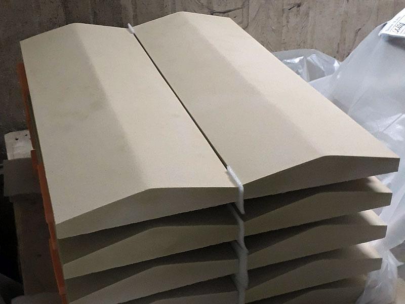 Купить парапетные крышки из бетона белый арт бетон