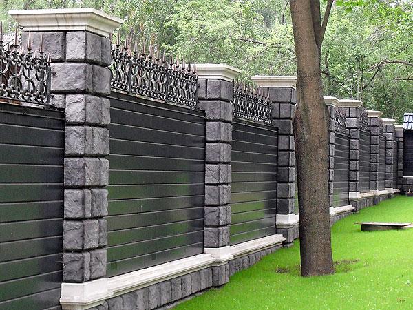 Купить колпаки на столбы забора из бетона цементный раствор для блоков